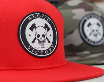 Trucker Hat: Flat Brim