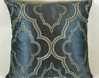 Casamance Imperatrice bleu Cushion Cover