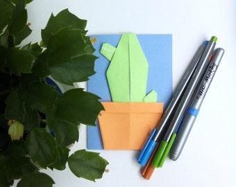 origami pot etsy. Black Bedroom Furniture Sets. Home Design Ideas