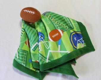 Soft Flannel Football Lovie