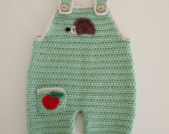 Crochet Baby Dungaree