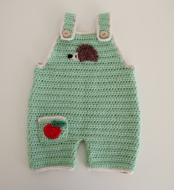 Crochet Baby Dungaree