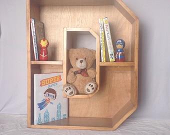 A-Z Letter Bookcase