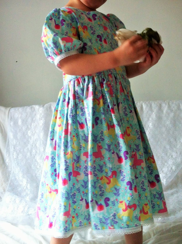 party dress, unicorn dresses, unicorns, fairytale, kids clothes ...