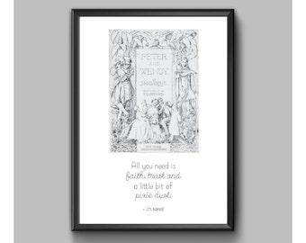 Digital Print - Peter Pan - Pixie Dust