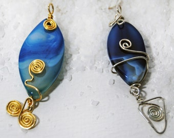 Blue agate-the jewel of Introspection