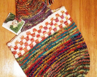 Adult Knit Hat and Hat/Mitten Set and Purse and Purse/Mitten Set