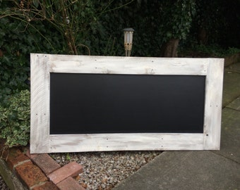 Wooden chalkboard cream chalkboard rustic menu wood blackboard distressed chalkboard
