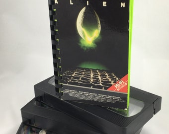 Alien VHS Notebook