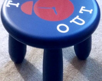 Time Out Stool Ships FREE
