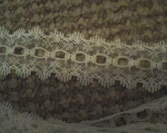 white eyelet lace