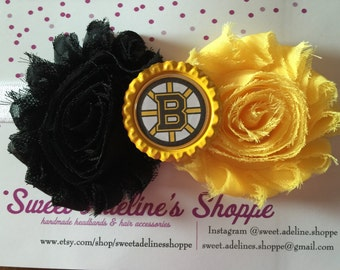 Boston Bruins Headband - Boston Bruins Inspired Headband -Bruins Headband