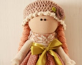 tilde doll rag doll handmade Christmas gift souvenir doll cute doll 2016 trends doll  white and games  gift idea dolls and figurines