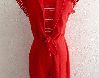 70s Sailor Jumpsuit