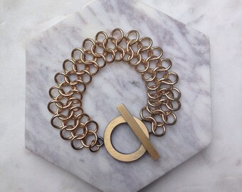 Gold bracelet, bracelet, gold, chain bracelet, chain