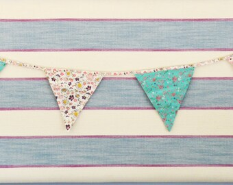 Summer Floral Bunting