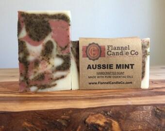 Aussie Mint Spearmint and Eucalyptus Essential Oil Soap