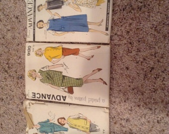 Vintage 1960s Maternity Sewing Patterns