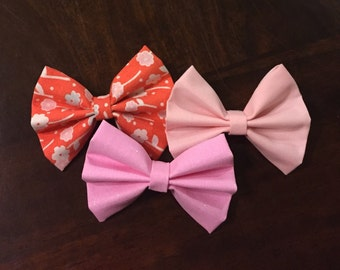 Spring Bows - Pack of 3