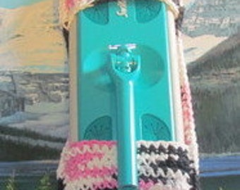 0406 Hand crochet swiffer mop cover