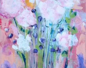 Original Painting, Colorful, Contemporary, Whimsical, Intuitive Soulful Art, Impressionistic