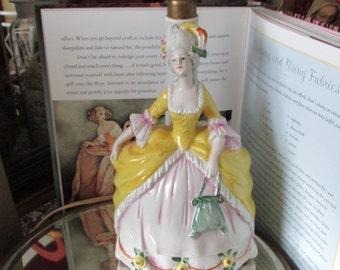 Vintage Marie Antoinette Lamp, Boudoir Lamp, Marie Antoinette, French Style