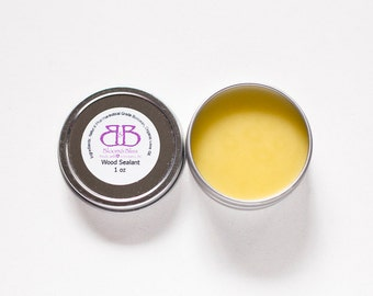 Natural Wood Sealant for Teethers and Wood Toys - Beeswax and Organic Olive Oil