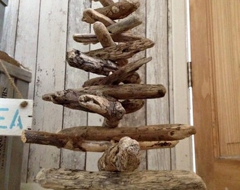 Driftwood Christmas Tree (Approx. 40cm tall)