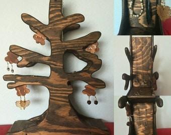 Handmade Tree Inpired Jewelry Stand!