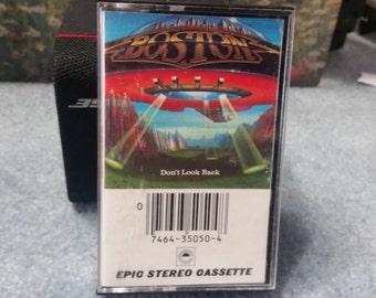 Boston. Don't Look Back. Cassette Tape Music Album