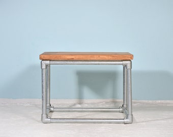 Lumber and scaffold tube - coffee table BETUWE