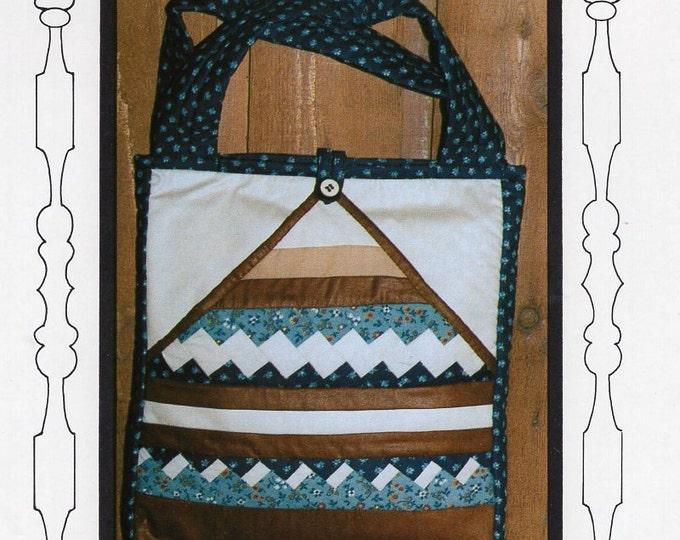 Free Us Ship Craft Sewing Pattern Quilted Handbag Purse Bag Fox Hollow Farm Seminole Sample Tote Marlene K Fox Uncut 1979 Unused