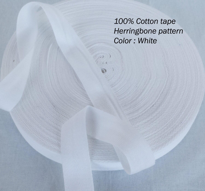 White apron tape -  3 96