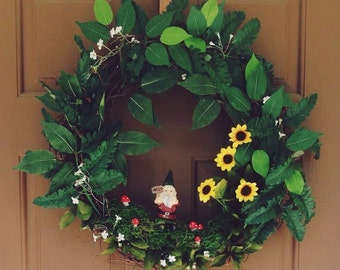 Forest Gnome Wreath