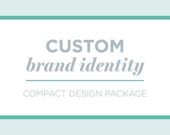 Compact + Custom Brand Package | Business Branding | Custom Brand Identity Design | Logo Design