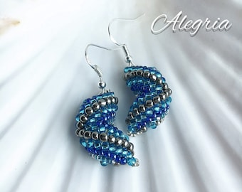 Cellini zig zag earrings