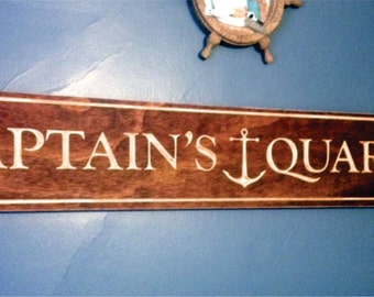 Captain's Quarters (Can be personalized to your liking)