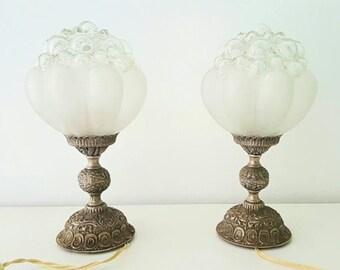 Lámparas Art Nouveau /Antique Art Nouveau lamp