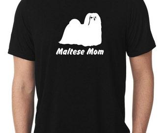 Maltese Mom T-Shirt T129