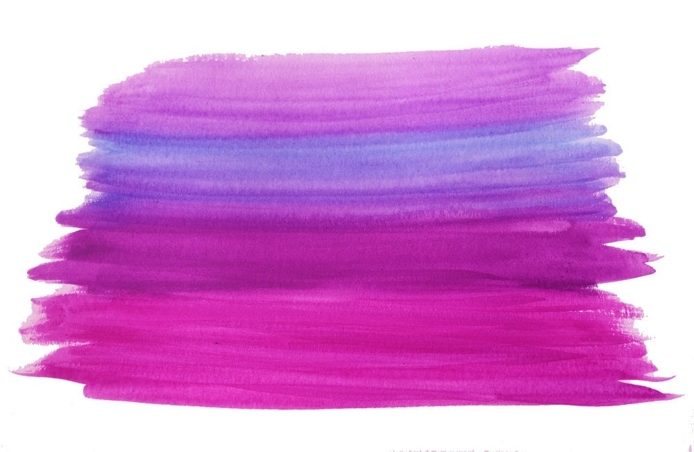Purple Paint Can With Brush