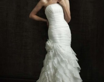 Wedding gown  by Allure style 8705