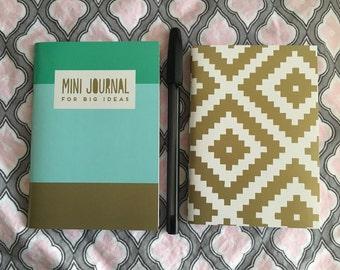 2 mini journals