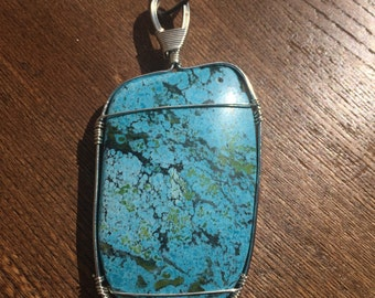 30% OFF Giant Turquoise Necklace