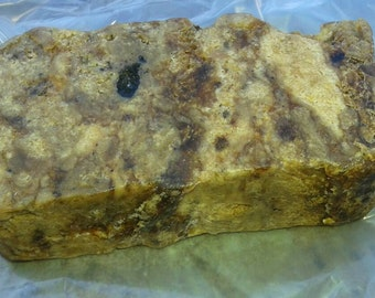 Raw All-Natural African Black Soap - Approx. 5 oz.