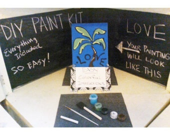 Love-DIY Paint Kit- everything included – even the directions!!