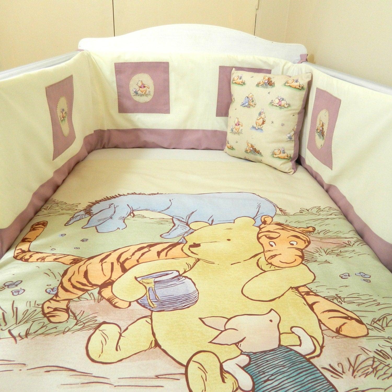 Vintage Winnie The Pooh Baby Bedding Winnie The Pooh Quilt