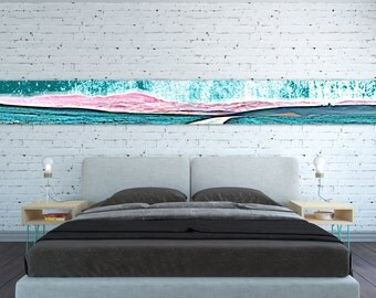 CANVAS PRINT Horizontal Extra Long Horizontal Large Abstract Wall Art Landscape Large Horizontal Panoramic Oversized Huge Large Wall Art