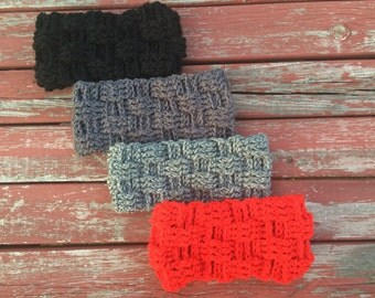 Basket Weave Headband Ear Warmer