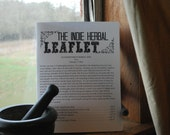 February 2016 The Leaflet: An Independent Herbal Zine