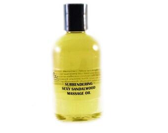 Surrendering Massage Oil